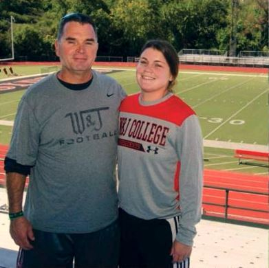 SL alumni father-daughter duo coaching at Washington & Jefferson College