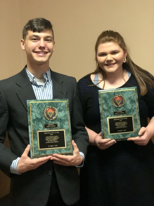 Two SLS Juniors Receive Greenfield Youth Award