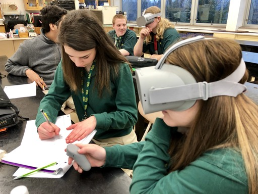 SLS takes students into virtual reality